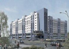 Торгово офісний центр, Київ, Ползунова