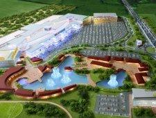 Торгово-розважальний центр Mall of Ukraine (Мол оф Юкрейн), поруч з  Київ