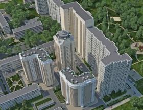 ЖК Сосновый бор, Киев, Олевская (3 очередь)