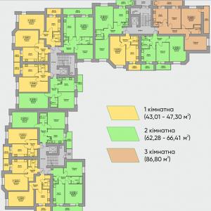 ЖК Комфорт Таун Плюс, Тернопіль