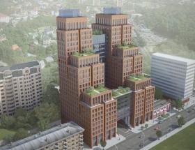 Офісно-житловий комплекс, Київ, Жилянська