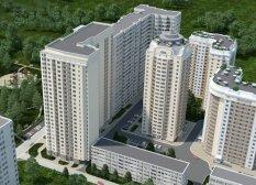 Житловий комплекс Сосновий бор, Київ, Олевська, Бахмацька (1 черга)