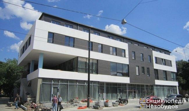 Торгово-офісний центр, Львів, Замарстинівська - Хмельницького