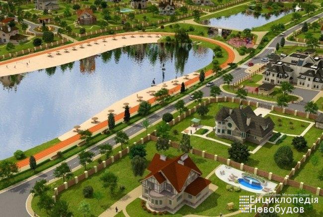 Коттеджный городок Азур, Киев - Ворзель