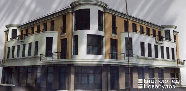 Торгово - офисный центр, Ужгород, Швабская