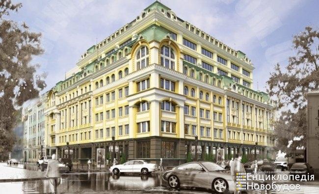 Бизнес центр, Киев, Спасская, Почайнинская