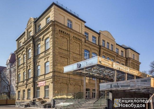 БЦ Резиденс, Киев, Довнар Запольского