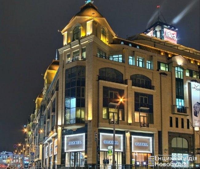 Торгово-офісний центр Мандарин Плаза, Київ, Басейна